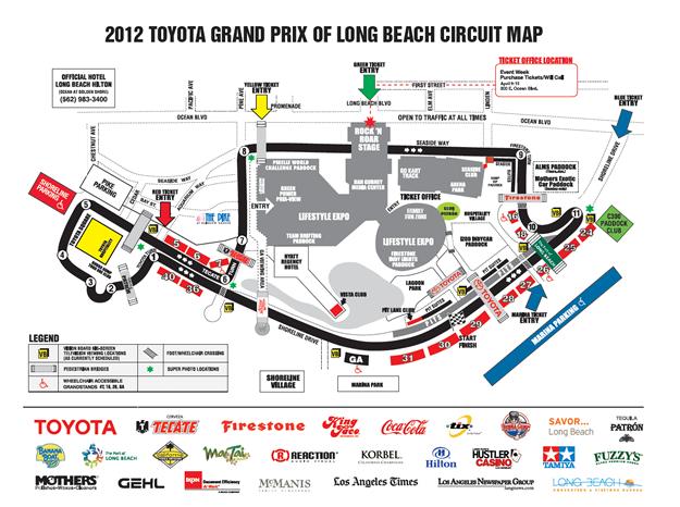 Toyota Grand Prix Of Long Beach Indycar Paddock Pass