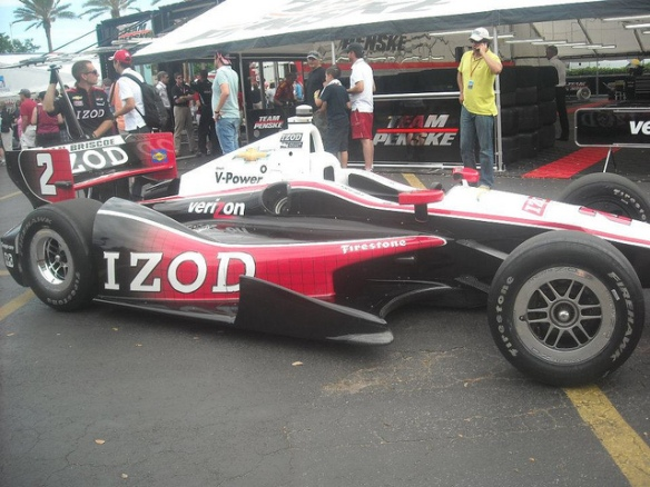 Team Penske IZOD 2012