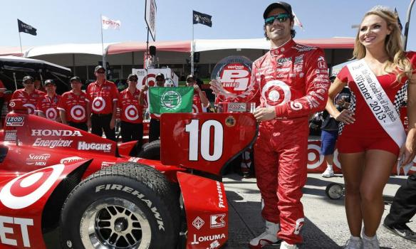 DARIO FRANCHITTI LONG BEACH POLE WIN