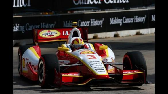 HELIO CASTRONEVES HOUSTON 2013