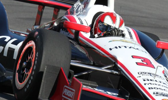 HELIO CASTRONEVES IOWA 2013