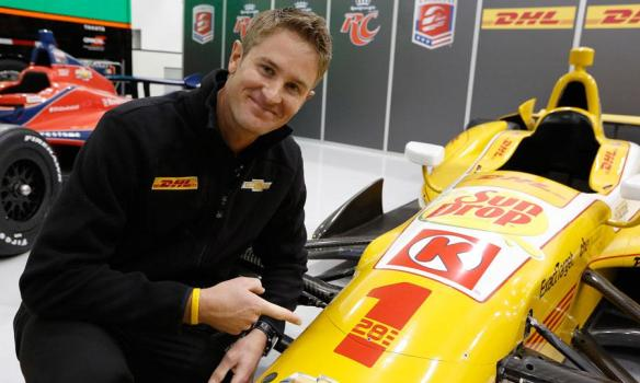 Ryan Hunter-Reay 2013 shot