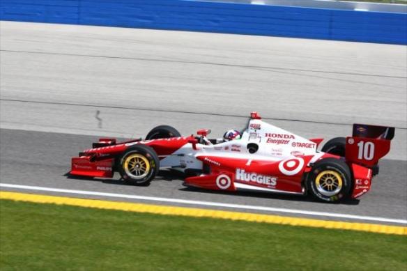Dario Franchitti Milwaukee 2013