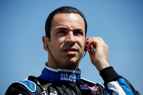 Helio Castroneves Milwaukee 2013